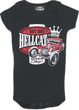 Hotrod Hellcat Speed King rythm manga corta babybody romper rockabilly
