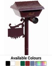 Gumleaf Aluminium Letterbox - Australian Made Stylish Mailbox Letter Box