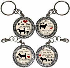 Lancashire Heeler Dog Key Ring Key Chain Purse Charm Zipper Pull Handmade #2