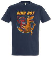 Dino Bot T-Shirt Geek Nerd Android Robot Roboter Dinosaur Fun Dinosaurier Dino