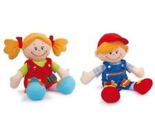 """Lernpuppen-Motorik-Puppen Stoffpuppen """"Chiara & Massimo"""" einfach zum knuddeln *"""