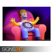 Homer appels Home (AD642) Funny Poster-Photo Poster print ART A0 à A4
