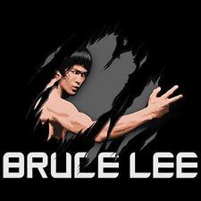 Bruce Lee Enter The Dragon Kung Fu Karate Legend Tear Thru Cool T-Shirt Tee