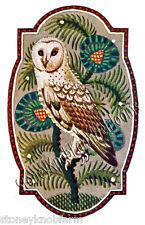 Owl Art Nouveau ~ Cross Stitch Pattern