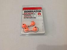 4 x VMC Dominator Metal Head Jig Fishing Bream Flathead Soft Plastics