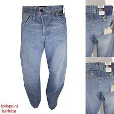 jeans levi's engineered 132  jeans largo ip hop rap azzurro lose taglia W28 W30