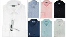 Mens Shirt DKNY Slim Fit Pure Cotton Long Sleeve Designer