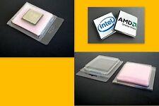 Processor Case Clam Shell for Intel AMD + Anti Static Foam - Lot of 10 25 75 150