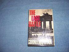 THE LAST BATTLE by Cornelius Ryan/1st Ed/1st Prt./HCDJ/War/Military/WWII 1939-45
