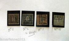 SERIE DE TIMBRES JAPON ANTIQUE 1878 EXTRA       LOT 454