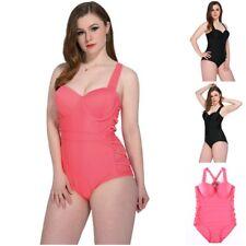 Bademode Plus Size Freizeit Übergröße Oversize Damen Größen Badeanzug Beachwear
