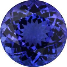 Natural Fine Rich Blue Purple Tanzanite - Round - Tanzania - AAA Grade