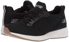 Women Skechers Bobs Squad Open Weave Sneaker 31371 Color Black 100% Authentic