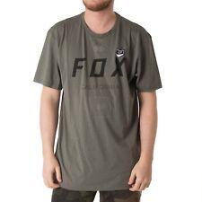 Fox growled Ss Tech camiseta Camisa Para Hombres Verde Oscuro 33801