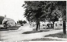4 Burton Leonard Nr Ripon unused old postcards by Harry Pratt