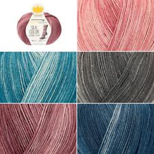 Regia Silk Color 4 PLY Knitting Yarn Knit Wool Craft 100g Ball