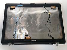 Toshiba Satellite X205 Genuine Red LCD Back Cover AP0170002 + BEZEL, CAMERA
