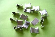 * invernadero Acristalamiento Clips Z De Aluminio Pulido elegir entre 25 a 500