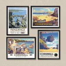 A2 Vintage Posters: Cornwall Cornish Riviera 02