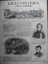 ILLUSTRATION 1844 N 45 ERUPTION DE L'ETNA DECEMBRE 1843