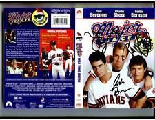 Tom Berenger Corbin Bernsen David S. Ward signed Major League DVD