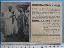 cartolina Missioni di Multan - India - C1177