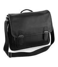Quadra nuhide? mensajero bolsa de cuero de grano lleno laptop se vea cierres de ciudad de oficina