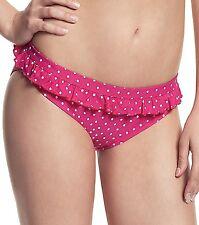 Cleo by Panache Betty Drawstring or fold Bikini Briefs Pink Various Sizes