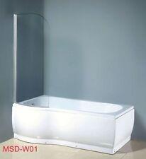 Badewanne Duschwand Duschwanne Wanne  Duschabtrennung Glasdusche