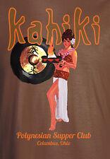 Kahiki Tiki Bar Restaurant Mystery Girl T-Shirt