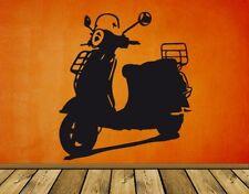 Wandtattoo Vespa LX Kinderzimmer Werkstatt Garage Sticker Motorroller wal118