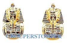 Pharaoh Earrings New Post Bullet Style King Tut Egyptian Positive Spirit