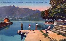 AIX LES BAINS Lac du Bourget Le Petit Port et la Dent du Chat