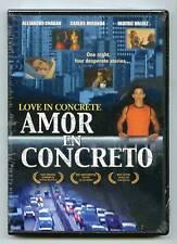 Amor En Concreto (DVD) Franco de Pena, Alejandra Espejo, Aroldo Betancourt, NEW!