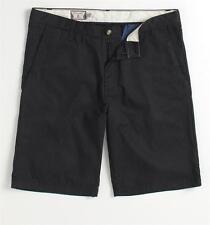 Volcom Stone Friggin Chino Stripe Mens Black Shorts New NWT