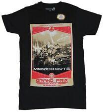 Mario Kart 8 Nintendo Mens T-Shirt - Grand Prix 200cc Mushroom Cup Event Poster