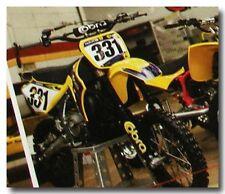 AMA MAGAZINE WITH SEAN HILBERT COBRA MOTOCROSS MINI-BIKE MOTORCYCLE ARTICLE