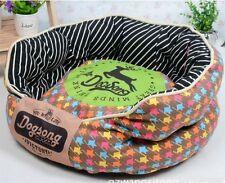 New Cotton Canvas Pet Dog Cat Sofa Bed Removable Mat House 4Colors Size M-XL