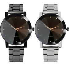 Luxury Watches Women Fashion Crystal Bracelet Wrist Watch Men Band Quartz Watch