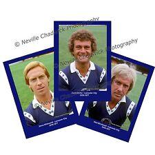 """Leicester City , Players Portrait Portraits, 7""""x 5"""" prints 1976-1977"""
