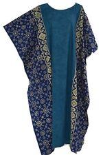 FIJI Cotton Kaftan Ladies Long Beach Cover Up Soft Cool Dress Wear Amazing New