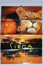 (P110) Kinoplakat Sirga - Die Löwin - 1993 Wéré Wéré Liking, Souleyman Koli