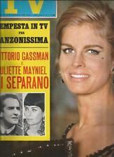 [KMJ] TV SORRISI E CANZONI ANNO 1968 N°38 GASSMAN MAYNIEL I CAMALEONTI