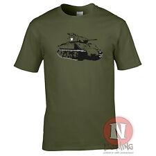 M4 Sherman tank WW2 allies world war two history t-shirt USA World of War Tanks