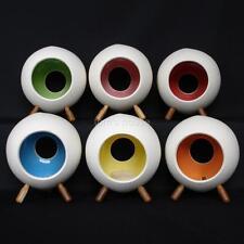 Retro tealight holders. Porcelain ceramic designer Aarnio vtg style 1960s