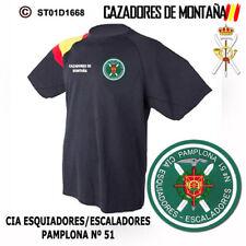 CAMISETAS TECNICAS CAZADORES DE MONTAÑA: CIA ESQUIADORES/ESCALADORES PAMPLONA 51
