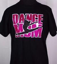 Women's Dance Mom Glitter Bling Dancing T-shirt Ladies Mother's Apparel Tee