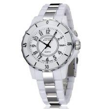 OHSEN Women Luxury Watches LED Light Fashion White Bracelet Lady Wristwatch Gift