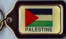 Palestine Solid Brass Key Chain NEW