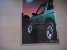 26050) Geo Tracker Suzuki Vitara USA Prospekt 1995